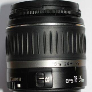 Canon EF-S 18-55mm f/3.5-5.6 II Zoom Lens