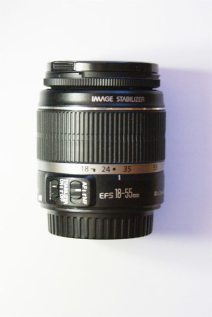Canon EOS EF-S 18-55mm f3.5-5.6 IS DSLR Lens
