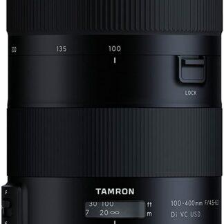 Tamron 100-400mm F/4.5-6.3 Di VC USD Nikon Fit Lens