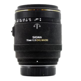 Sigma 70mm f/2.8 EX DG Macro Nikon Fit Lens