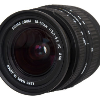 Sigma 18-50mm f/3.5-5.6 DC Canon EF-S Fit Lens