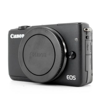 Canon EOS M10 18MP Black Mirrorless Camera