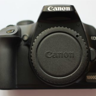 Canon EOS 1000D / Rebel XS 10.1 MP Digital SLR Camera Body