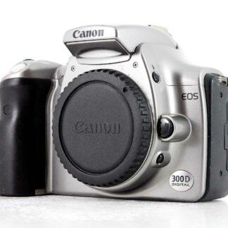 Canon EOS 300D 6.3MP DSLR Camera