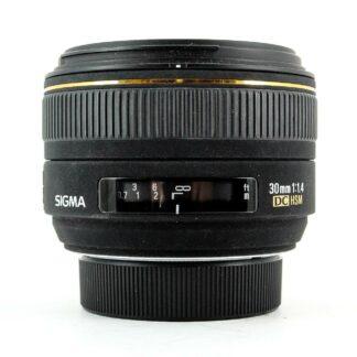 Sigma 30mm f/1.4 EX DC HSM Nikon Fit Lens