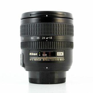 Nikon 18-70mm f/3.5-4.5 G Nikkor AF-S DX ED Zoom Lens