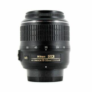 Nikon Nikkor AF-S 18-55mm f/3.5-5.6G DX VR Lens