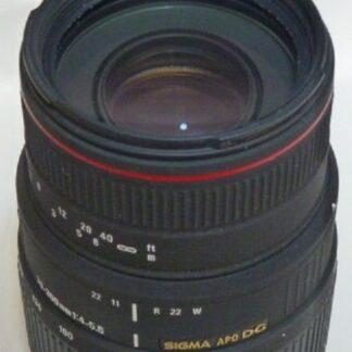 Sigma 70-300mm F4-5.6 APO DG Lens - Nikon Fit - Non-Motorised