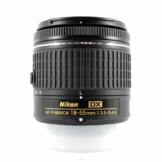 Nikon AF-P 18-55mm f/3.5-5.6G DX Lens