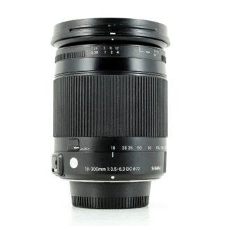 Sigma 18-300mm F/3.5-6.3 DC Macro OS HSM 'C' Lens - Nikon Fit