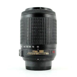 Nikon AF-S NIKKOR 55-200mm f/4-5.6G ED DX VR Lens