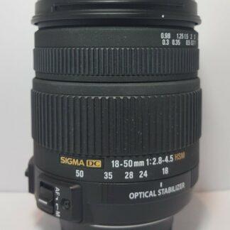 Sigma 18-50mm F/2.8-4.5 DC OS HSM Nikon Fit Lens