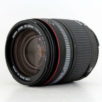 Sigma 28-300mm f/3.5-6.3 AF DG Macro, Nikon Fit Lens
