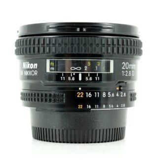 Nikon AF 20mm f/2.8 D Lens