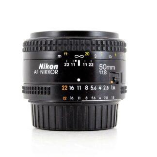 Nikon AF NIKKOR 50mm f/1.8 Lens