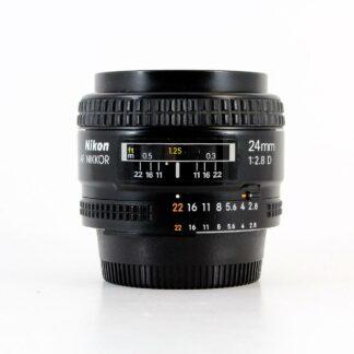 Nikon AF Nikkor 24mm f2.8D Lens