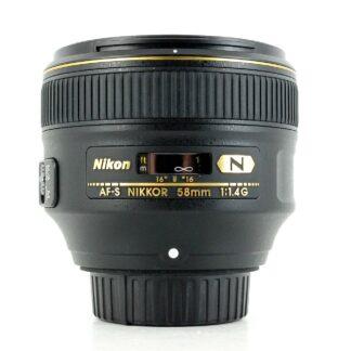 Nikon Nikkor AF-S 58mm f/1.4G Lens