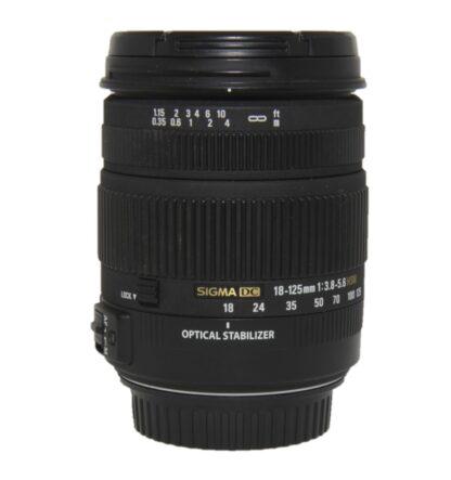 Sigma 18-125mm f/3.5-5.6 DC Nikon Fit Lens