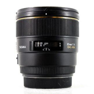 Sigma 85mm F/1.4 HSM EX DG Nikon Lens