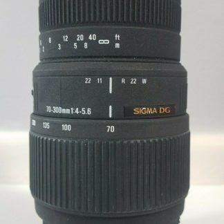 Sigma DG 70-300mm f/4.0-5.6 DG Lens Nikon - NON-MOTORISED VERSION