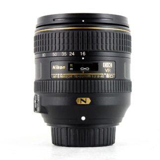 Nikon AF-S 16-80mm f/2.8-4E ED DX VR Lens