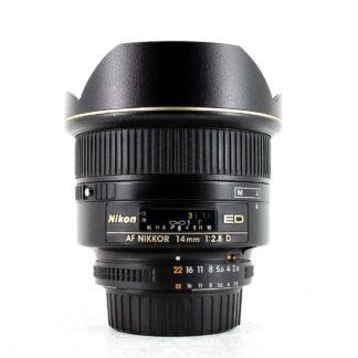 Nikon AF Nikkor 14mm F2.8D ED Lens