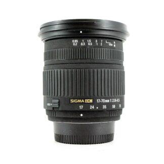 Sigma 17-70mm f/2.8-4.5 DC Macro Nikon Fit Lens