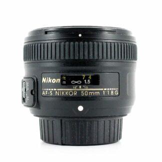 Nikon Nikkor AF-S 50mm F/1.8 G Lens