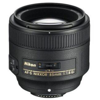 Nikon Nikkor 85mm f1.8 G AF-S Lens