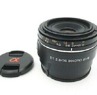 Sony SAM DT SAL30M28 30mm F2.8 Macro Alpha A Mount Lens