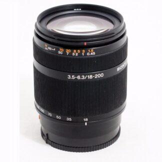 Sony 18-200mm F/3.5-6.3 DT AF Lens SAL18200 A Mount