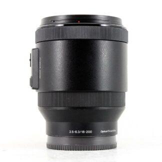 Sony E 18-200mm f3.5-6.3 OSS Power Zoom Lens