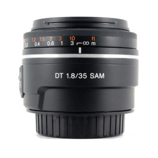 Sony A Mount 35mm f1.8 DT SAM Lens
