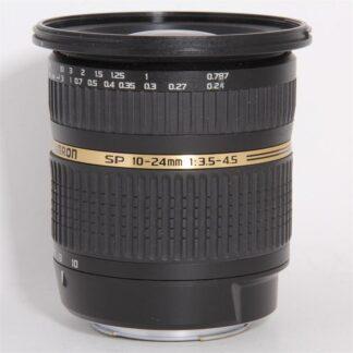 Tamron SP AF 10-24mm f/3.5-4.5 Di II LD Aspherical Sony Fit Lens