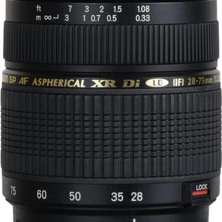 Tamron SP AF 28-75mm f/2.8 XR Di LD Aspherical (IF) Macro Sony Lens