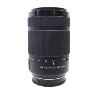Sony SAL55300 A Mount 55-300mm f4.5-5.6 SAM ED Lens