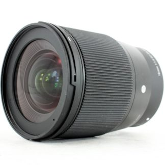 Sigma 16mm f/1.4 DC DN C Sony E Mount Fit Lens