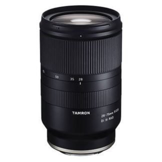 Tamron 28-75mm f2.8 Di III RXD Lens Sony E Fit Lens