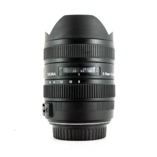 Sigma 8-16mm f/4.5-5.6 DC HSM, Canon EF-S Fit Lens