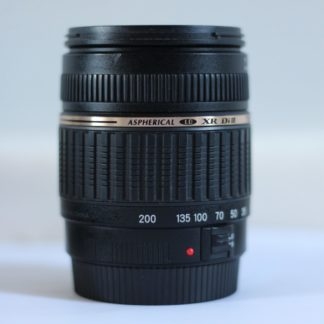 Tamron AF 18-200mm f3.5-6.3 XR Di II LD Aspherical (IF) Macro Canon EF-S Lens