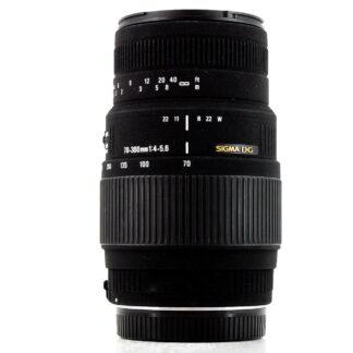 Sigma 70-300mm f/4-5.6 DG Macro Canon EF Lens