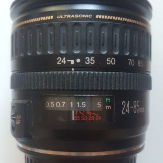 Canon EF 24-85mm f/3.5-4.5 USM Black Lens