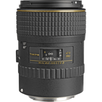 Tokina 100mm F2.8 AT-X PRO D Macro Canon Fit Lens