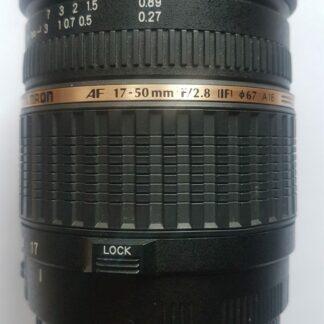 Tamron SP AF 17-50mm f/2.8 XR Di II LD Aspherical (IF) Canon EF-S Fit Lens