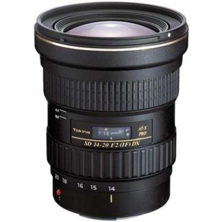 Tokina 14-20mm f/2 AT-X PRO DX Canon EF-S Fit Lens