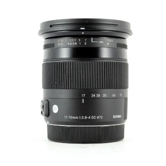 Sigma 17-70mm F2.8-4 DC Macro OS HSM 'C' Contemporary Lens for Canon EF-S