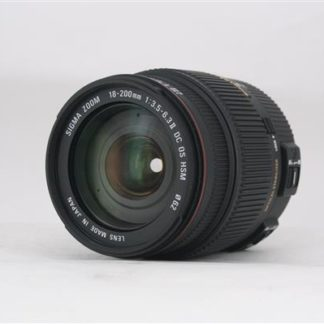 Sigma 18-200mm f/3.5-6.3 II DC OS HSM Canon Fit Lens