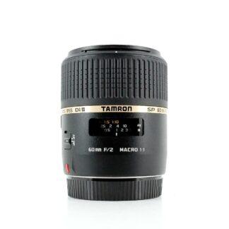 Tamron SP AF 60mm f/2 Di II LD IF Macro Canon EF-S Fit Lens