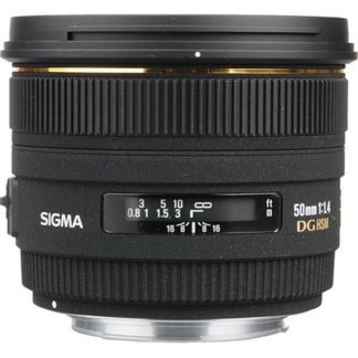 Sigma 50mm f/1.4 EX DG HSM Canon EF Fit Lens