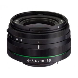 Pentax HD Pentax-DA 18-50mm f/4-5.6 DC WR Lens